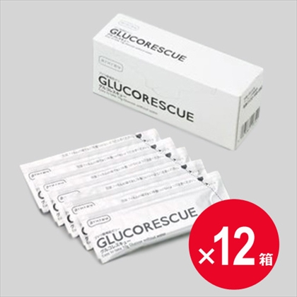 [ネット限定]グルコレスキュー (ブドウ糖補給ゼリー) 25g×5包×12個セット