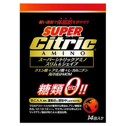 シトリックアミノ スーパースリム&シェイプ 6g×14包