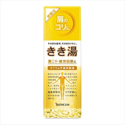 きき湯 カリウム芒硝炭酸湯 360g[医薬部外品]