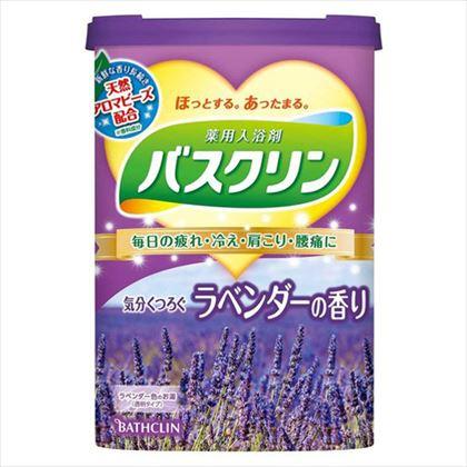 バスクリン ラベンダーの香り 600g[医薬部外品]