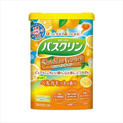 バスクリン サンシャインガーデン ベルガモットの香り 600g[医薬部外品]