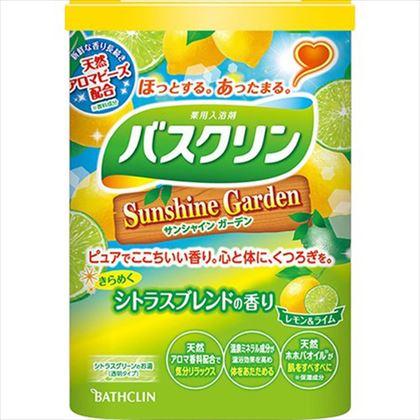 バスクリン サンシャインガーデン シトラスブレンドの香り 600g[医薬部外品]