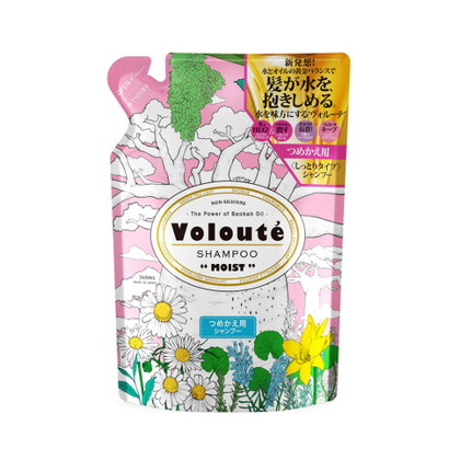 Voloute(ヴォルーテ) モイスト シャンプー 詰替え用 360ml