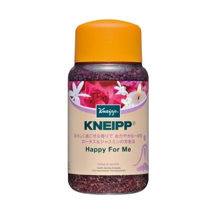 クナイプHBバスソルト ハッピーフォーミー ロータス&ジャスミンの香り 600g