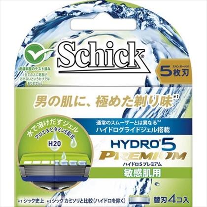 シック ハイドロ5プレミアム 替刃 敏感肌用 4個
