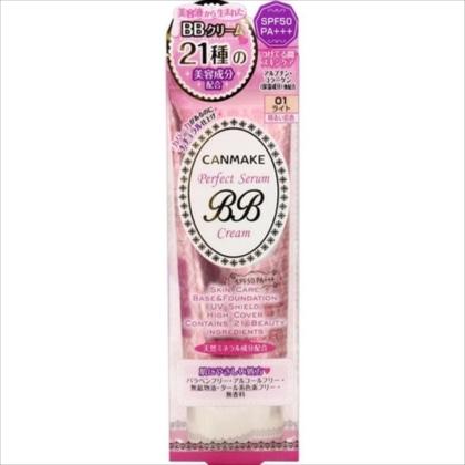 CANMAKE[キャンメイク] パーフェクトセラムBBクリーム 01 ライト