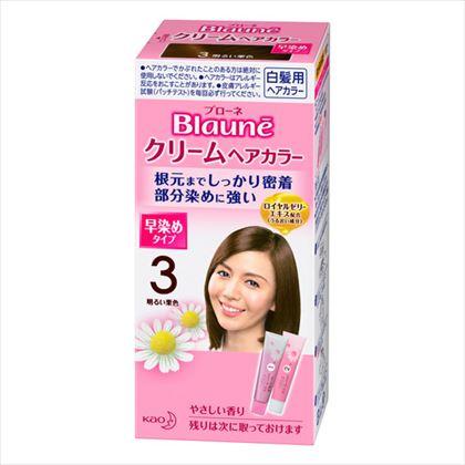 花王 ブローネクリームヘアカラー 3 明るい栗色