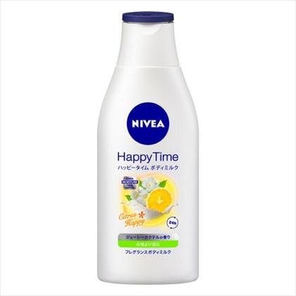 花王 ニベア ハッピータイムボディミルク シトラスハッピー 200g