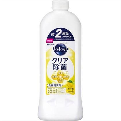 キュキュット クリア除菌 レモンの香り つめかえ用 385ml