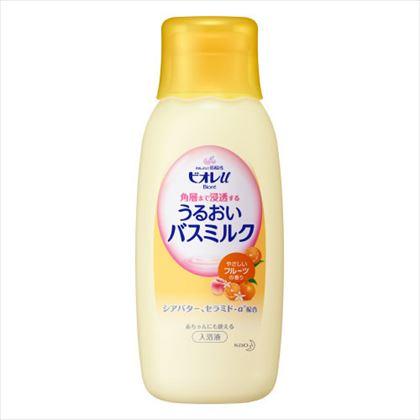 ビオレu 角層まで浸透する うるおいバスミルク やさしいフルーツの香り 本体 600ml