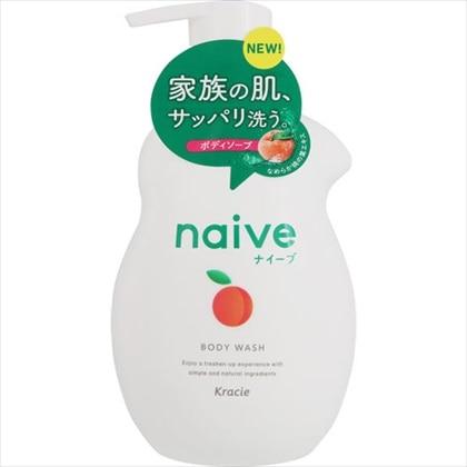 ナイーブ ボディソープ 桃の葉エキス配合 ジャンボ 530ml