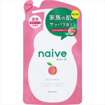 ナイーブ ボディソープ 桃の葉エキス配合 詰替用 380ml