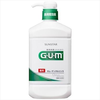 GUM(ガム) デンタルリンス レギュラータイプ 960ml