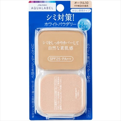 資生堂 アクアレーベル ホワイトパウダリー オークル10(レフィル) 11.5g