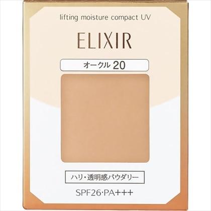 資生堂 エリクシール シュペリエル リフティングモイスチャーパクトUV オークル20 (レフィル)