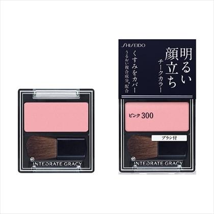 資生堂 インテグレート グレイシィ チークカラー ピンク300 2g