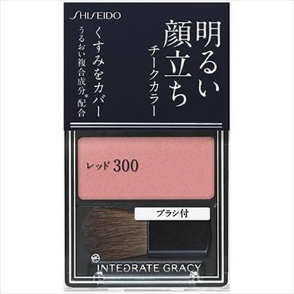 資生堂 インテグレート グレイシィ チークカラー レッド300 2g