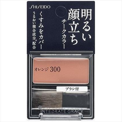 資生堂 インテグレート グレイシィ チークカラー オレンジ300 2g