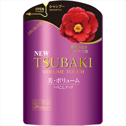 TSUBAKI(ツバキ) ボリュームタッチ シャンプーNa つめかえ用 345ml