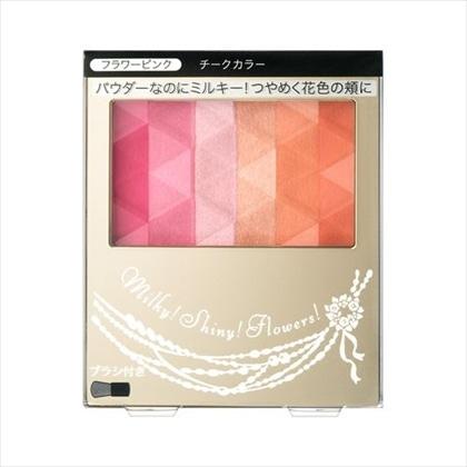 資生堂 インテグレード ミルキーフラワーチークス 1(フラワーピンク) 3.5g