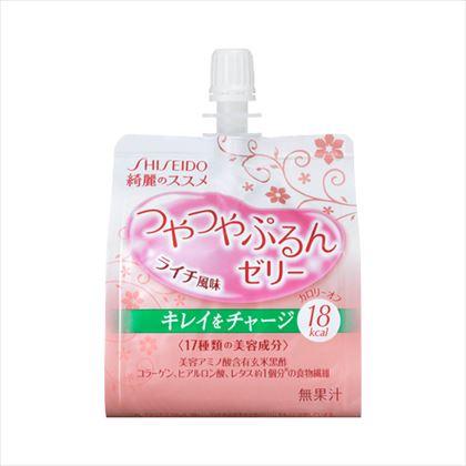 資生堂 綺麗のススメ つやつやぷるんゼリー (ライチ風味) 150g