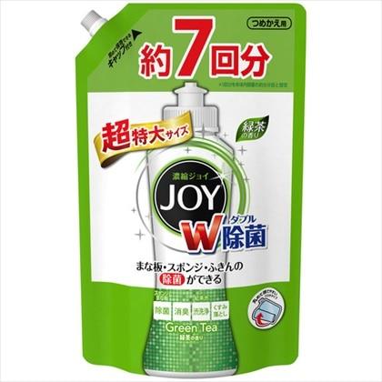 ジョイ コンパクト 食器洗剤 除菌ジョイ 緑茶の香り 超特大 1065ml
