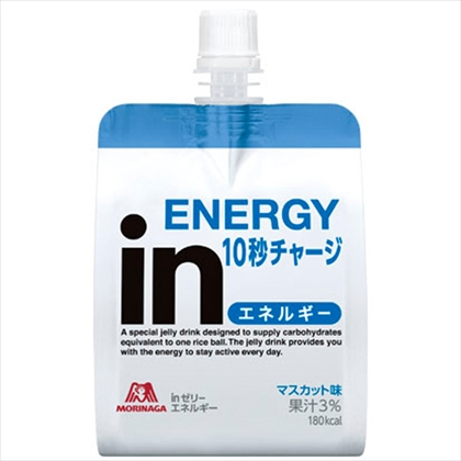 ウイダーinゼリー エネルギーイン マスカット味 180g