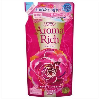 香りとデオドラントのソフラン アロマリッチ スカーレットつめかえ用 450ml