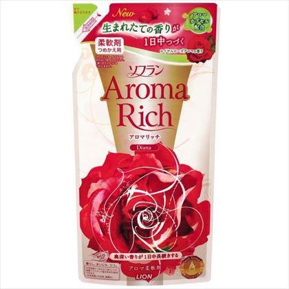 香りとデオドラントのソフラン アロマリッチ ダイアナつめかえ用 450ml