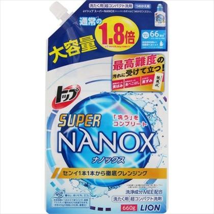 トップ スーパーNANOX(ナノックス) つめかえ用大 660g