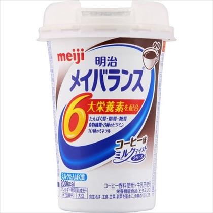 明治 メイバランス Miniカップ コーヒー味 125ml