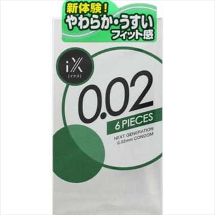 ジェクスコンドーム0.02 1000゜ 6個入