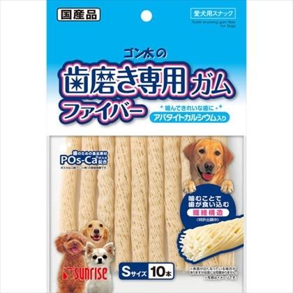 ゴン太の歯磨き専用ガムファイバーSアパタイト 10本