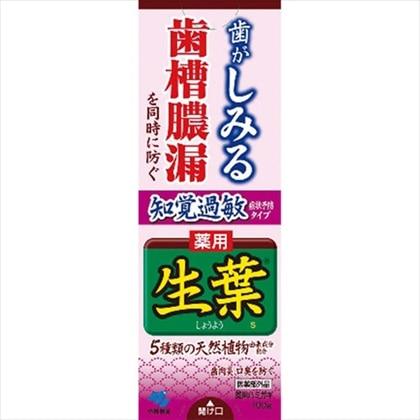 生葉 知覚過敏症状予防タイプ 100g[医薬部外品]