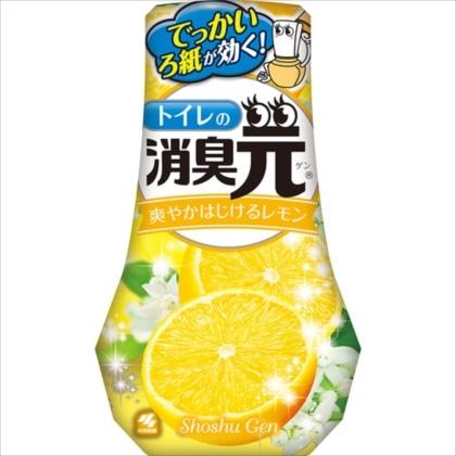 トイレの消臭元 爽やかはじけるレモンの香り 400ml
