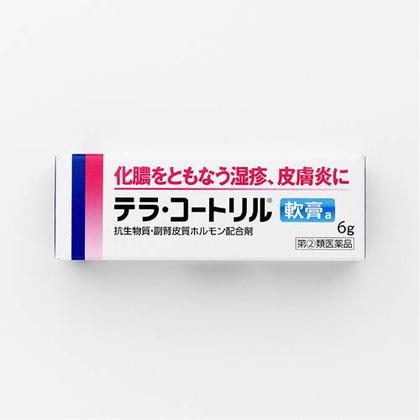 テラ・コートリル軟膏a 6g[指定第2類医薬品]