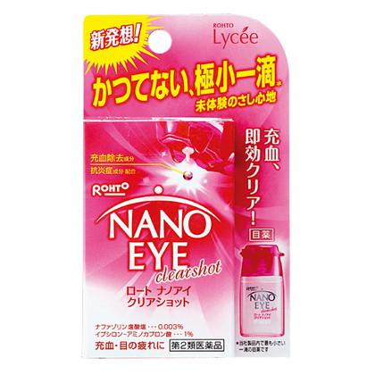 ロート ナノアイクリアショット 6ml[第2類医薬品]