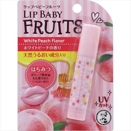 メンソレータム リップベビーフルーツ ホワイトピーチの香り 4.5g