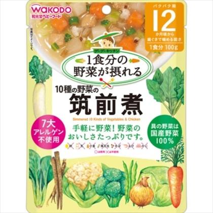 1食分の野菜が摂れるグーグーキッチン 10種の野菜の筑前煮 100g