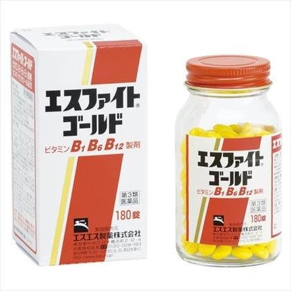 エスファイトゴールド 180錠[第3類医薬品]