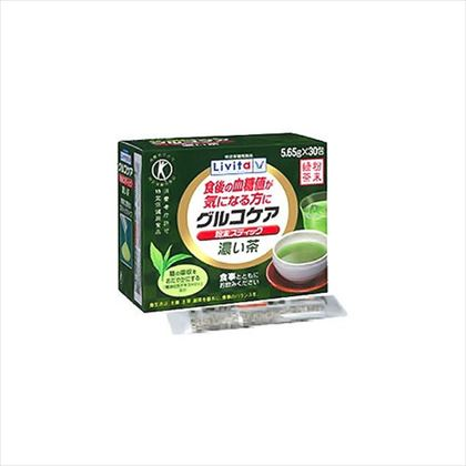 グルコケア粉末スティック濃い茶 30包