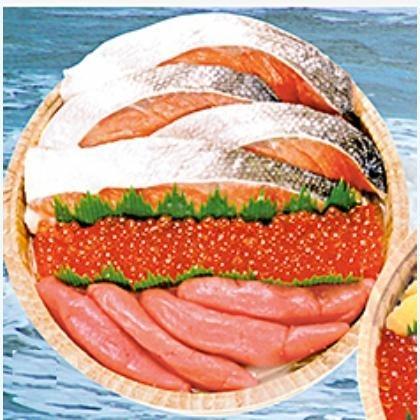 紅鮭・いくら・醤油たらこセット