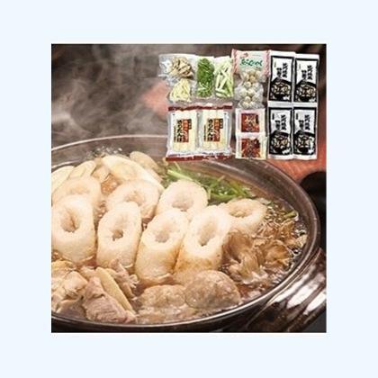 比内地鶏きりたんぽ鍋(3〜4人前)