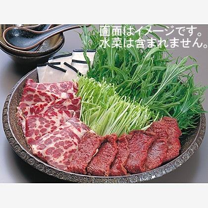 ハリハリ鍋用鯨肉詰合せ