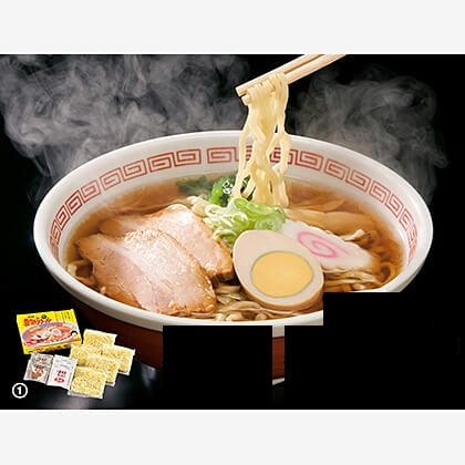 会員限定 河京の喜多方生ラーメン 5食