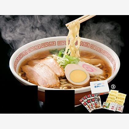 会員限定 河京の喜多方生ラーメン 7食具材付