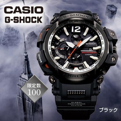 〈カシオG−SHOCK〉GRAVITYMASTER(ブラック)