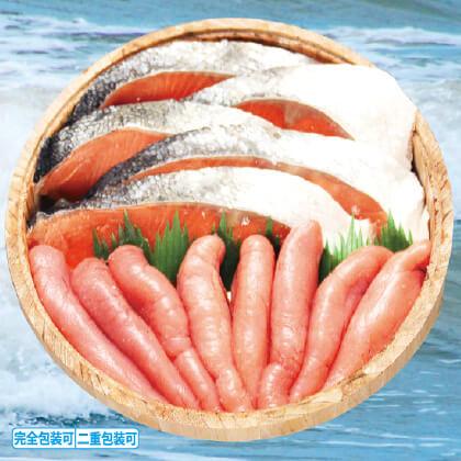 四季舎 紅鮭・醤油たらこセット