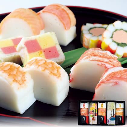 鮨懐石かまぼこと加賀の味Aセット