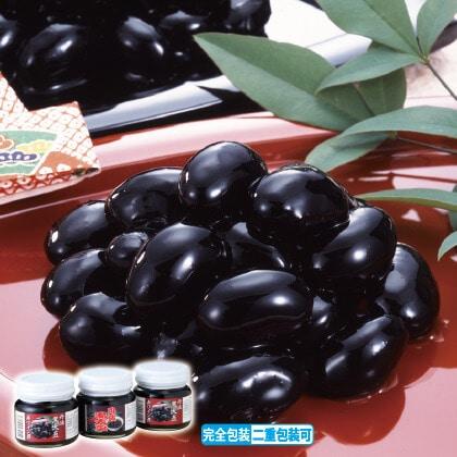 丹波黒大豆赤ワイン煮セット